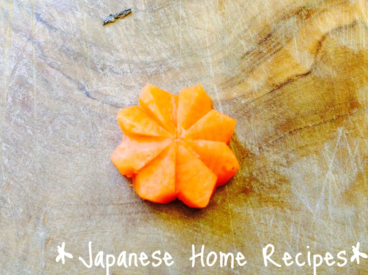 How to make Carrot Flowers?