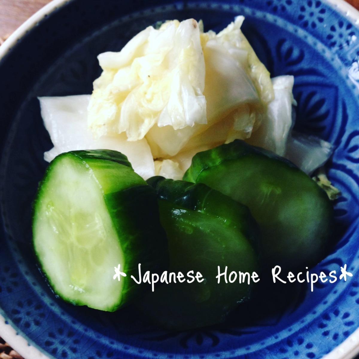 Cucumber Asazuke Pickles