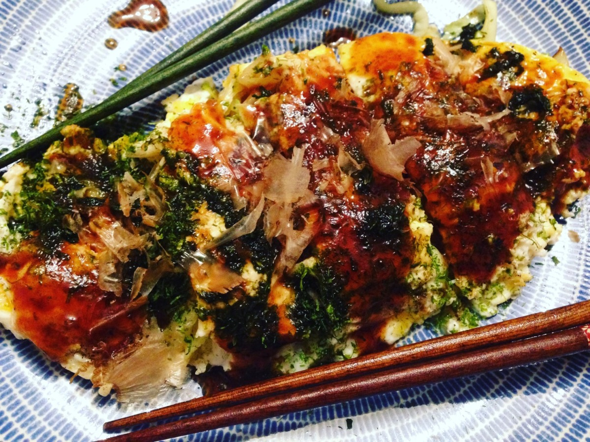 Tonpei-yaki (Japanese omelette) *(v)possible